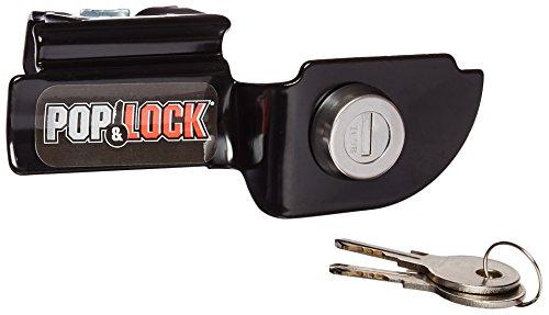 Pop & Lock PL3600 Black Manual Tailgate Lock for Mitsubishi Raider/Dodge