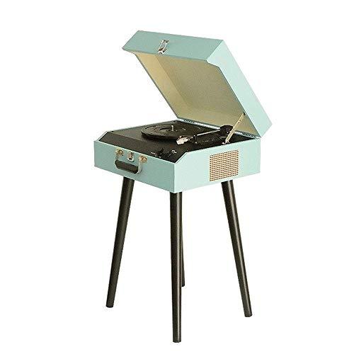 スピーカーを内蔵したレコードプレーヤーBluetooth 大音量のサウンドが損傷からレコードを保護多機能蓄音機ステレオレコードプレーヤー