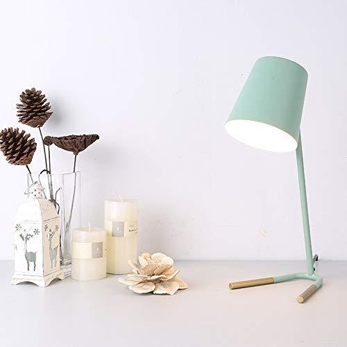 Led-tischlampe, Einfarbige Tischlampe/Farbtischlampe/Kann Zum Lesen, Lernen, Büro, Schlafzimmer/Nachttisch, Etc. Verwendet Werden. Mintgrün
