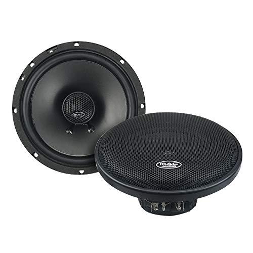 MAC AUDIO - Altavoces Coaxiales BLK 16.2 Bidireccional 16,5
