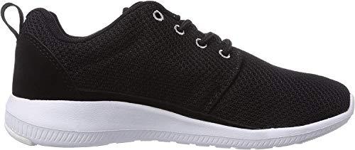 Kappa Unisex-Erwachsene Speed II Footwear Low-Top, Schwarz (1116 black/grey), 42 EU