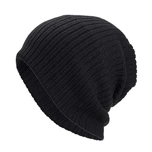 Cebbay Bonnet Femme Unisexe Homme Chapeau,Chaud Chapka Turban Baggy Weave Headwear,Hiver Coton Headgear Chic Beanie Hats Crâne Ski Caps
