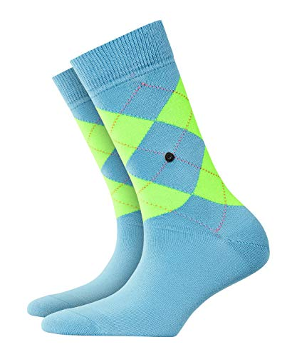 BURLINGTON Damen Socken Neon Queen - Baumwollmischung, 1 Paar, Blau (Sky Blue 6254), Größe: 36-41