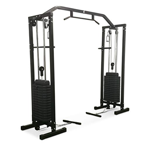 Fit4Home TF-1007 Cable crossover machine Olympic Multi Gym equipment Home Workout Station 150kg weights home gym free weights cast iron rope exercise