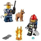 LEGO City Minifigure Combo - Police Chief...