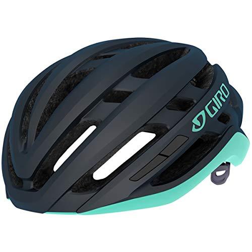 Giro Damen Agilis W MIPS Fahrradhelm Road, Matte Midnight/cool Breeze, M (55-59cm)