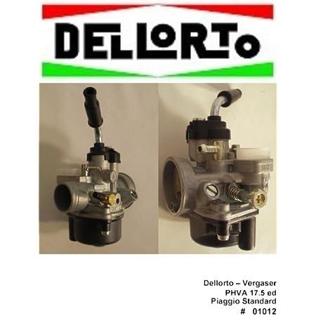 Vergaser Dell Orto Phva 17 5 Ed Aprilia Sr50 R 50 2t Auto