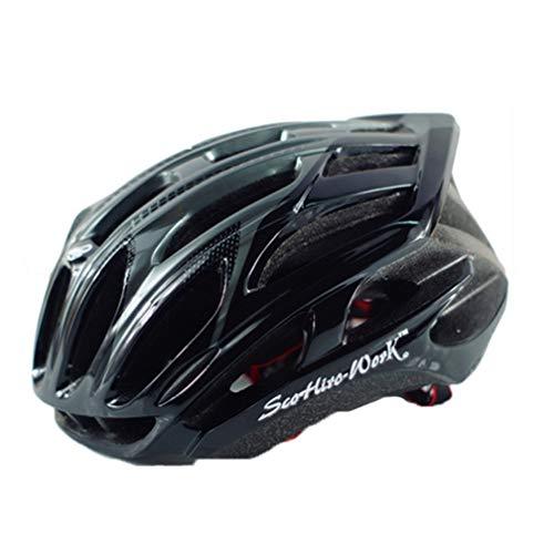 Casco ciclismo fanale posteriore a LED Donna Uomo Casco da bicicletta Casco bici MTB per adulti Casco protettivo da strada per mountain bike