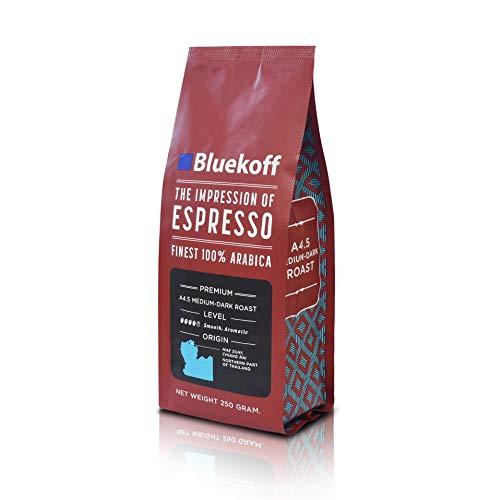 Thailand Single Farm Specialty Roasted Coffee Bean 8.8 Oz from Bluekoff (Medium Dark)