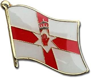 Northern Ireland Country Flag Bike Motorcycle Hat Cap lapel Pin BEST material PREMIUM Vivid Color and UV Fade Resistant