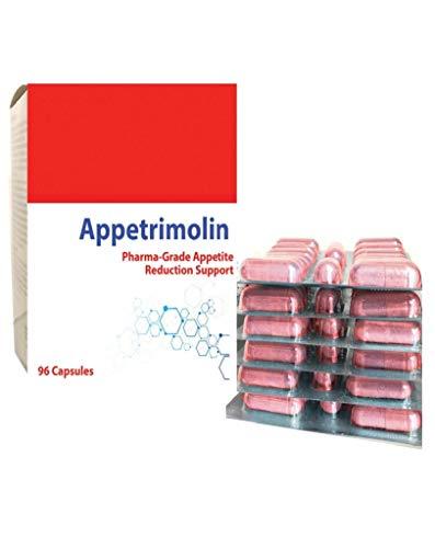 Appetrimolin Appetitzügler Appetithemmer Diät Abnehmen Gewichtsverlust Tabletten 96 Kapseln Pro Schachtel