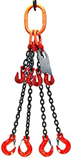 4 leg adjustable lifting chains