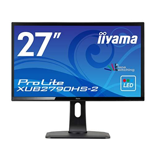 iiyama モニター ディスプレイ XUB2790HS-B2(27型/AH-IPS方式/狭額縁/広視野角/非光沢/昇降/ピボット/スィ...