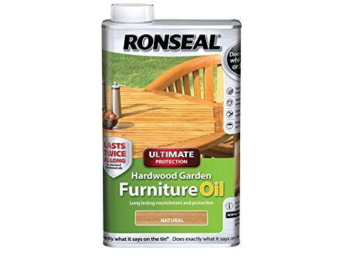 Ronseal uhwgfoclr 500ml natur Ultimate Schutz Hardwood Garden Furniture Oil transparent