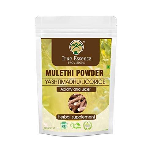 24 Karat Heera Ayurvedic Research Foundation mulethi powder Licorice for Acidity and Ulcer 200 Gm