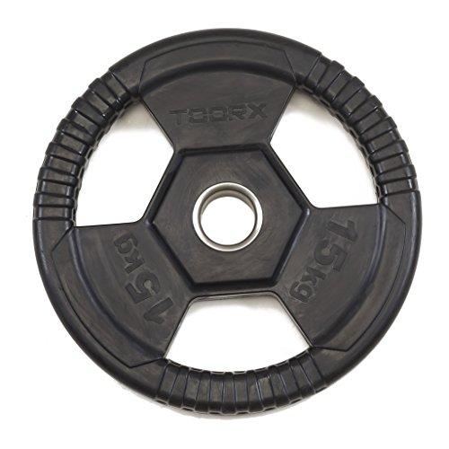 toorx disco ghisa gommato kg 15 diam.50 mm