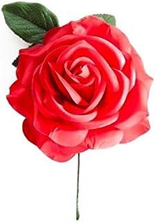 La Senorita Flamenco Rose, Spanische Blume, Haarschmuck Rot