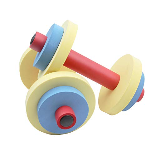 Akicon Fun and Fitness Exercise Equipment for Kids - Dumbbell Toddler Exercise & Learning Dumbbell