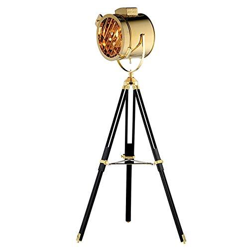 The only goede kwaliteit decoratie goud en zilver Nordic zoektocht metaal restaurant vloerlamp retro industrie wind tripod led woonkamer decoratie vloerlamp 800 * 1750 (mm)