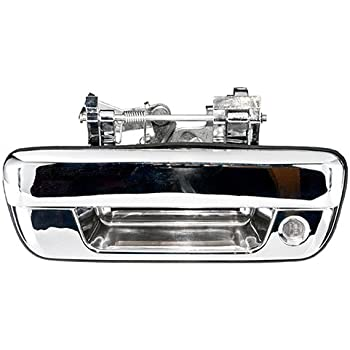 Pop /& Lock PL1100C Chrome Finish Manual Tailgate Lock for GMC and Chevrolet