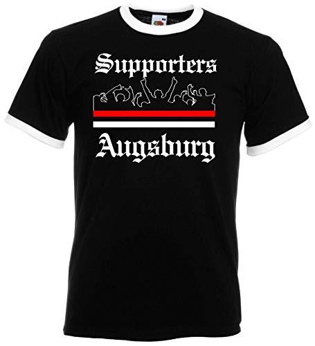 world-of-shirt / Augsburg Herren Retro Supporters Ultras