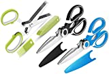 Kitchen Shears ,3-Pack Kitchen Scissors Heavy Duty Meat Scissors and Herb Scissors ,Dishwasher Safe...