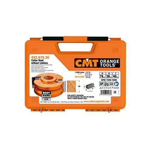 CMT Orange Tools 692,078,30-tête sans contracuch.d 78 f 30 x 40