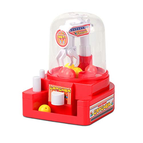 ENCOCO Mini Claw Game Toys Candy Grabber Catcher Balls Machine Small Crane Machine UFO Catcher Toy for Children Kids