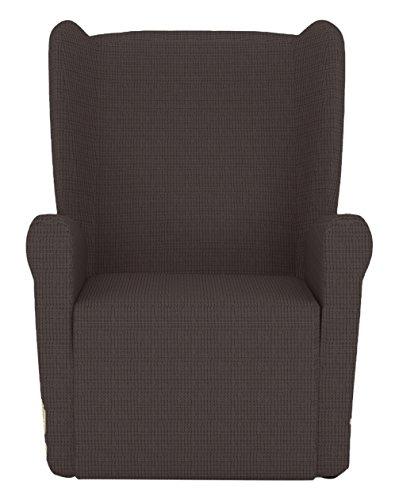 Eiffel Z51 Textile Lille Beschermhoes sofa fauteuil 55 x 195 x 2 cm bruin