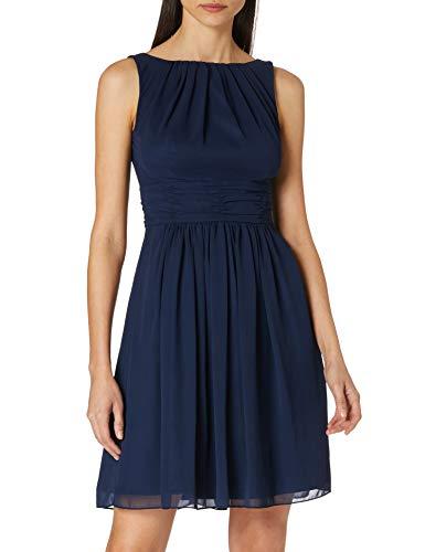 Swing Damen Kleid Emma Blau (Marine 300),42