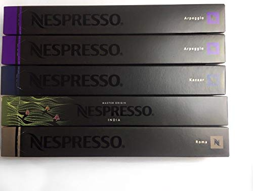 Nespresso 50 Kapseln Sortiment