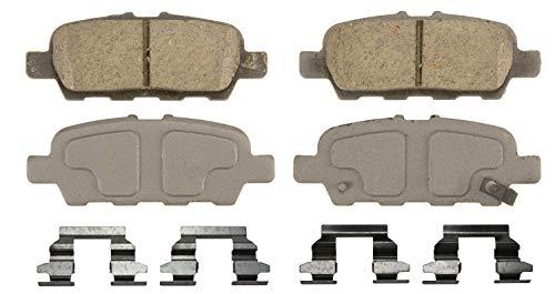 Wagner ThermoQuiet QC1393 Ceramic Disc Brake Pad Set