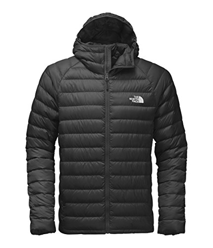 The North Face Giacca con Cappuccio Trevail, Uomo, TNF Black/TNF Black, L