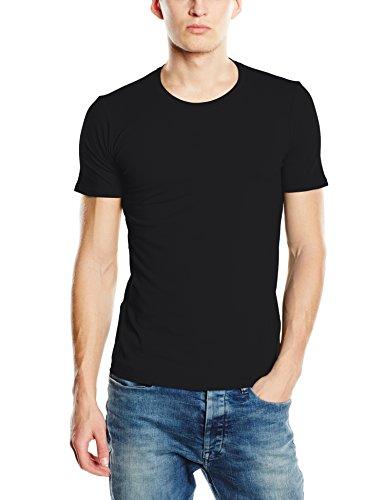Stedman Apparel Herren Clive (Crew Neck)/ST9600 Premium T-Shirt, Schwarz-Black Opal, Large