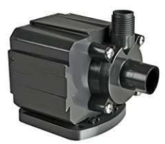 Suitable for medium to large garden fountains, piped statuary, and ponds 700 gallon per hour pump w/18' cord. 60 watts; 1.3 amps. Powerful ceramic magnetic impeller is the only moving part which makes these pumps extremely energy efficient; Pumps can...