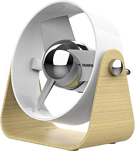 Sharper Image SBV1 USB-Ventilator Weiß