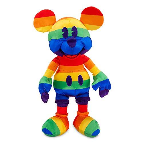 디즈니 레인보우 컬렉션 2020 미키 마우스 플러시-중간-15½