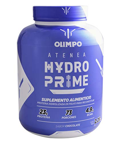Olimpo Atenea Hydro Prime, Proteína Hidrolizada 2.26kg Sabor Chocolate