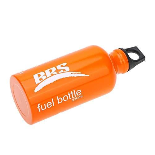 Tactical Area Bouteille de Carburant de 0,53/0,75L / 1L Contenant de gazole Liquide Essence Alcool Alcool de réchaud