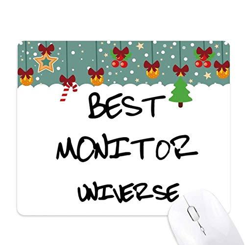 Beste Monitor Universum Graduatie Seizoen Muis Pad Game Kantoor Mat Kerstmis Rubber Pad