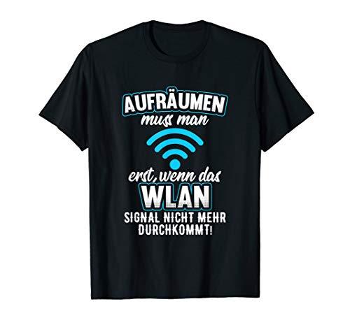 Nerd, Geek, Gaming, Informatiker, WLAN Motiv-Sprüche T-Shirt