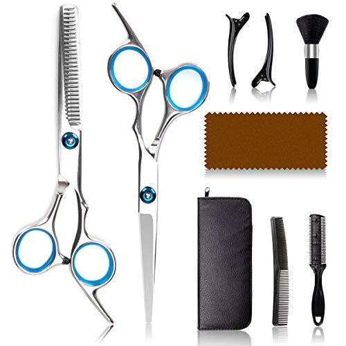 ORDORA Hair Cutting Scissors Kit for Women & Men,...