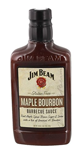Jim Beam® Maple Bourbon BBQ Barbecue Sauce - 395ml