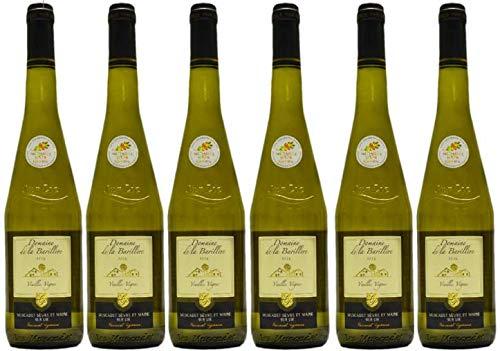 Muscadet sur Lie 2019, Vieilles Vignes, Vin Blanc Sec, par lot de 6 bouteilles de 75cl