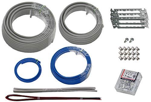 準備万端シリーズ 第二種電気工事士技能試験練習用材料「全13問分の電線セット」 (2021年度版)