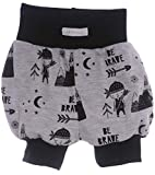 La Bortini Shorts Kurze Babyhose Pumphose Shorty Höschen Pumpshorts 50 56 62 68 74 80 86 92 (86)