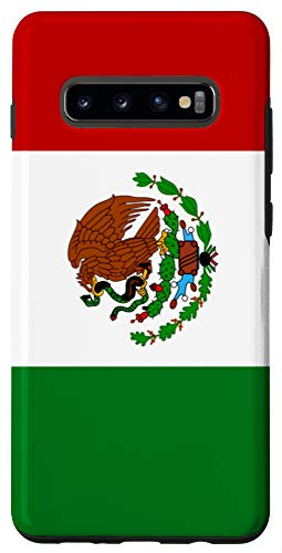 Galaxy S10+ Mexico Flag Mexican Native Pride Heritage Country Gift Case