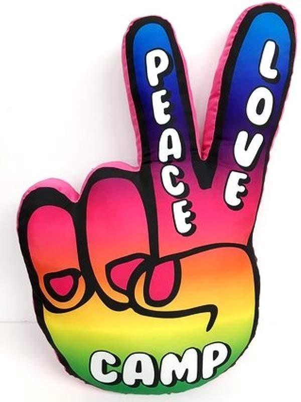 Bunk Junk Peace Hand Autograph Pillow