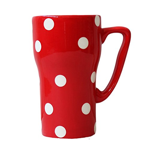 Polka Dots Travel Mug Color: Red by A.C.K. Trading Co.