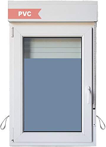Ventanastock Ventana PVC Practicable Oscilobatiente Izquierda con Persiana 700 ancho x 1155 alto 1 hoja